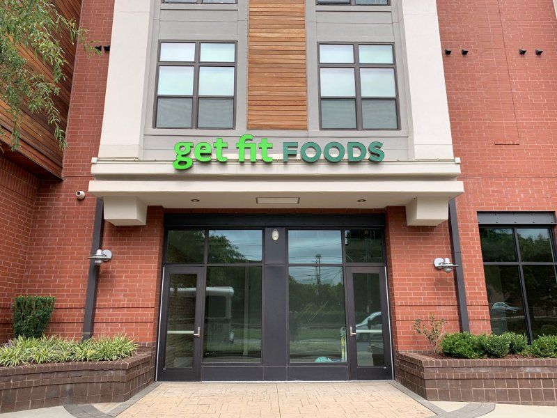 Get Fit Foods of Charlotte -- Channel Letter Sign