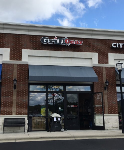 Grill Gear of Charlotte - Channel Letter Sign