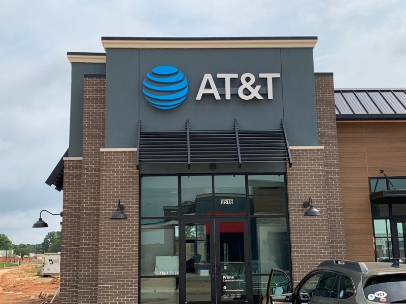 INSTALL ONLY - AT&T Store Signs
