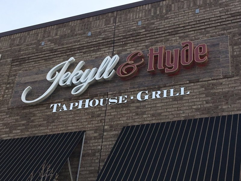 Jekyll & Hyde Taphouse Channel Letter Sign II