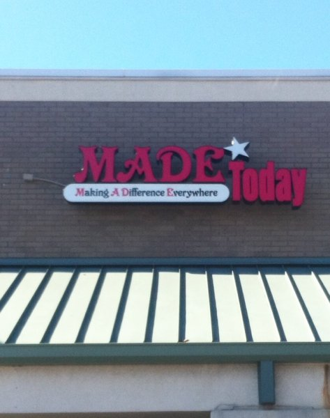 Channel Letter Sign at Made Today in Charlotte, NC