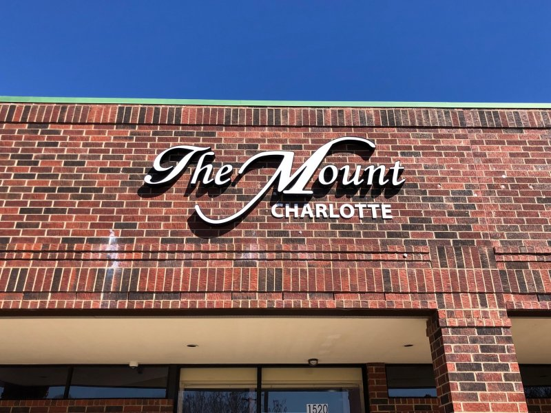 The Mount - LED Illuminated Channel Letters & Acrylic Letters