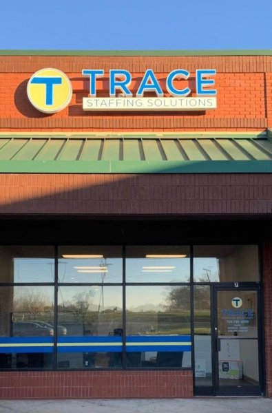Trace Staffing Solutions - Channel Letter Sign