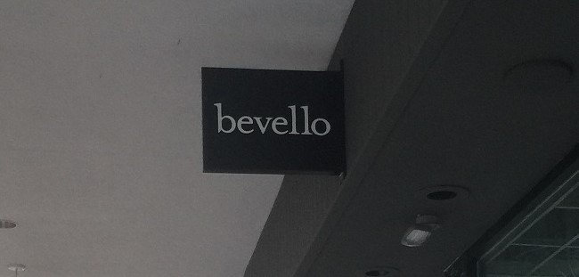 Bevello Store - Blade Sign