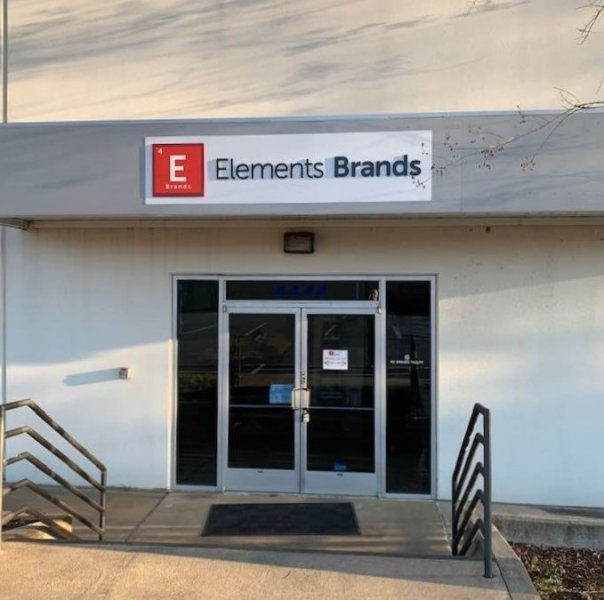 Exterior Signage for Elements Brands of Charlotte