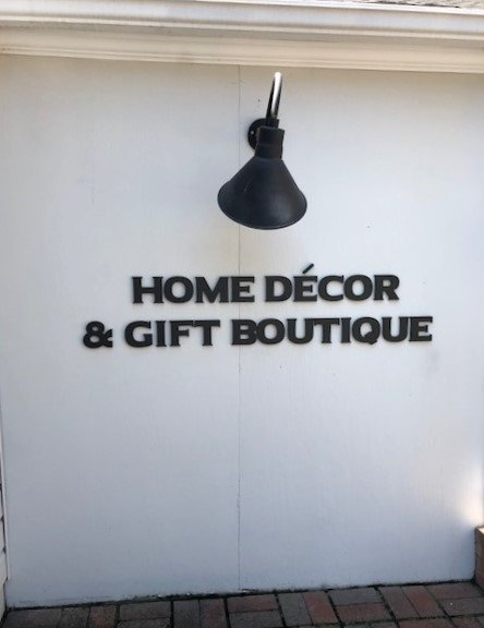 Home Decor & Gift Boutique - Sintra Letters