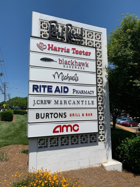 New Faces on Existing Monument for AMC / Install Only
