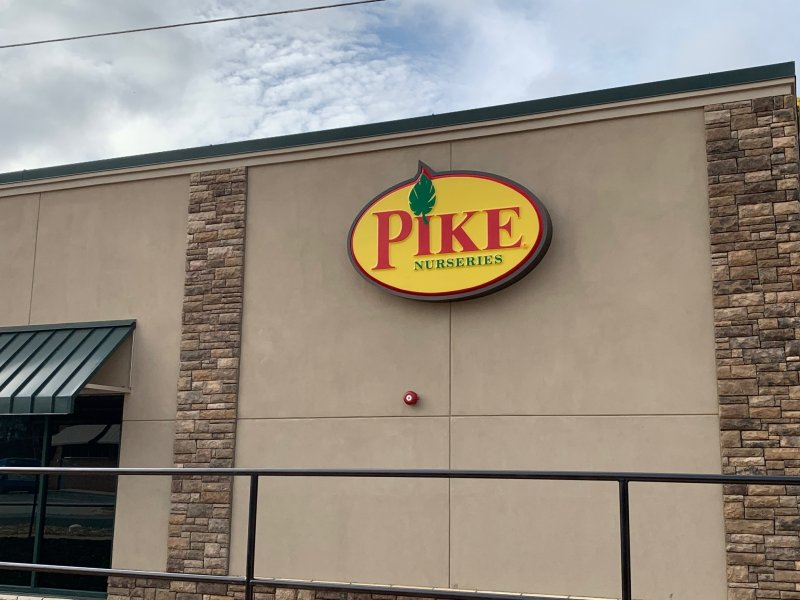 Pan Formed / LED Sign for Pike Nurseries of Charlotte