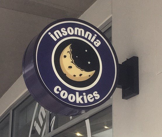 Insomnia Cookies - Blade Sign