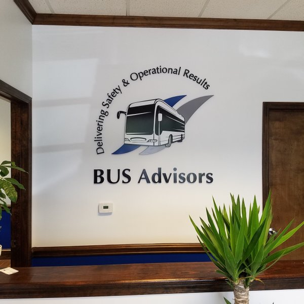 BUS Advisors of Charlotte -- Interior Feature Wall Sign