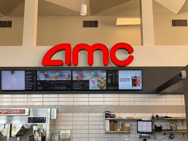 Interior Signage at AMC Theater / Install Only