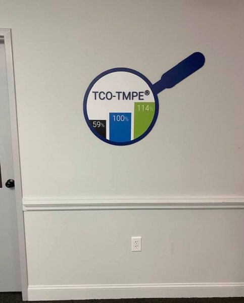 Custom Interior Signage for TCG Consulting of Charlotte