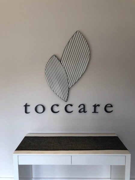 Toccare Day Spa - Interior Feature Wall Sign