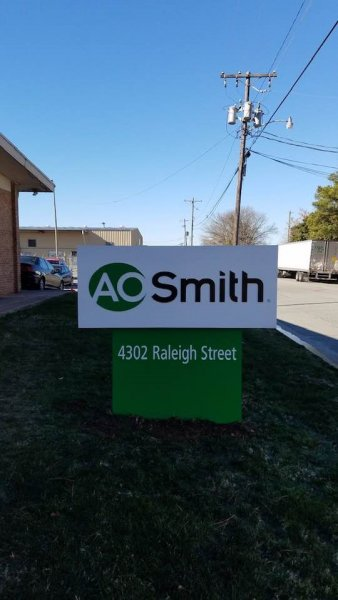AO Smith Monument Sign