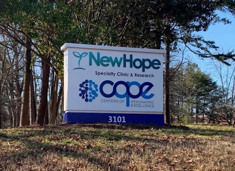 New Hope Clinic - Monument Sign