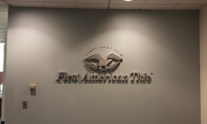 Dimensional Letter & Logo Feature Wall Sign
