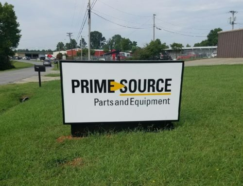 Take a look at one of our recent Outdoor Sign Projects!