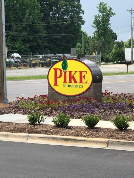 monument signs, custom signs, signs charlotte, signs 28031, signage, exterior signage, brick base signs,