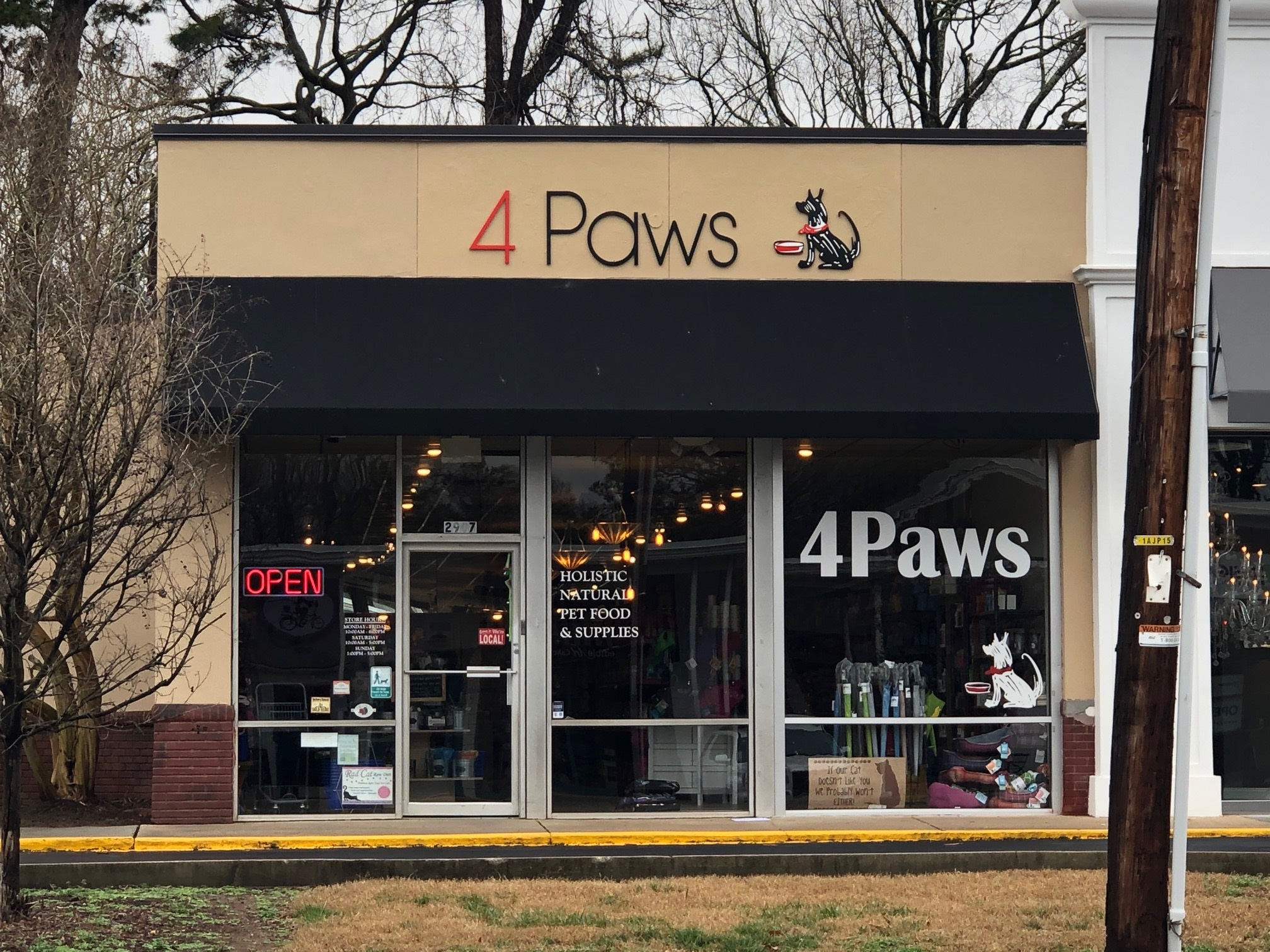 New Acyrlic Letters for Local Pet Store! - JC Signs Charlotte