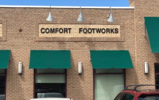 Comfort Footworks Sign
