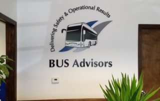 BUS Advisors - Interior Feature Wall Sign