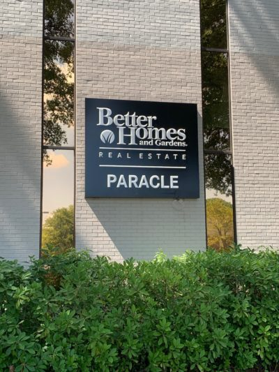 Better Homes & Gardens Real Estate Sign
