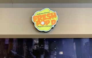 Fresh Pop's Sign - Close up