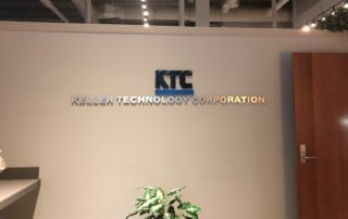 Keller Technology Corporation -- Interior Sign