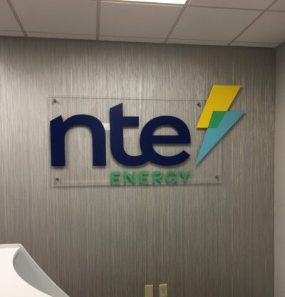 NTE Energy - - Interior Feature Wall Sign