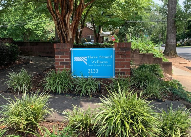Three Strand Wellness - New Sign Panels for Monument