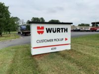 Wurth of Charlotte - Monument Sign
