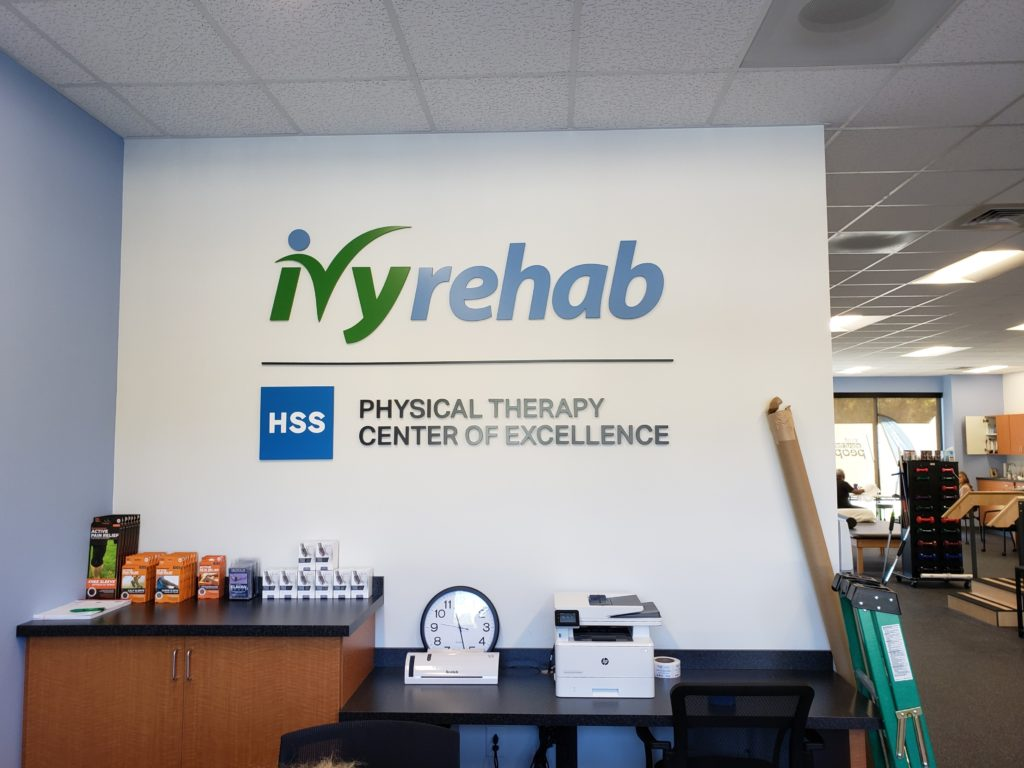 Ivy Rehab of Charlotte - Interior Feature Wall Sign
