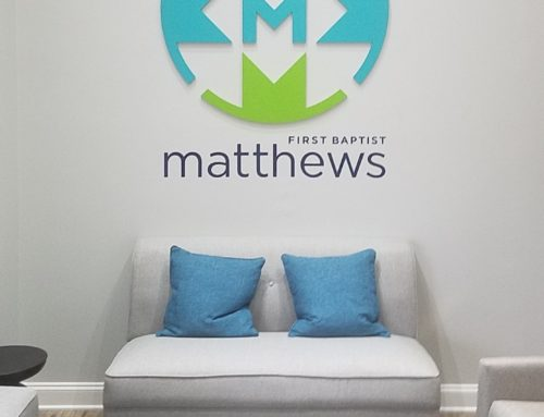 Interior Signage for Local Church!