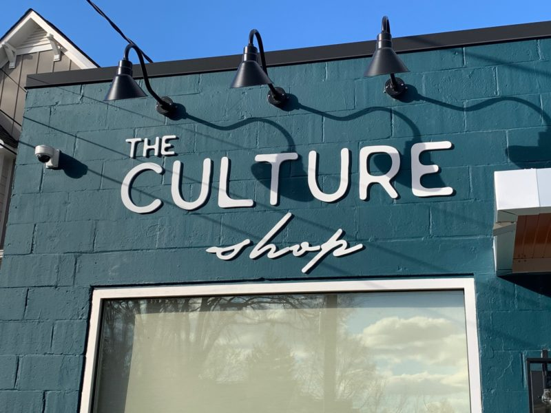 Acrylic Signage for The Culture Shop