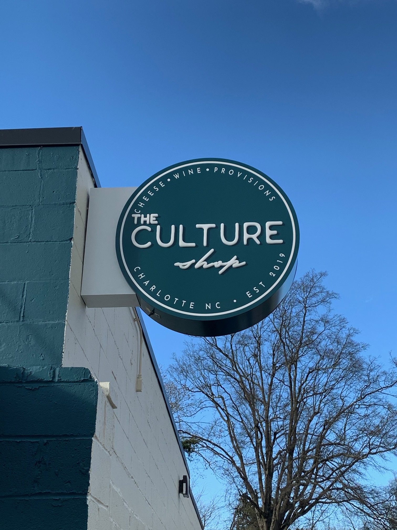 Custom Blade Sign for The Culture Shop of Charlotte